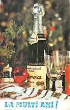 BR72005 la multi ani new year champagne festive table romania