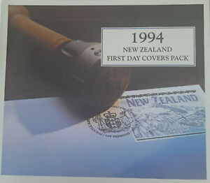 New Zealand - 1994 First Day Covers Pack - (pack contains 17 First Day Covers).