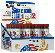 (47,98€/l ) Weider Speed Booster Plus 2 Lemon Cola  20 Ampullen