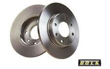 2x BOLK Discos de Freno Traseros Pleno 280mm Para FORD TRANSIT BOL-D011731