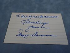 AUTHENTIC AUTOGRAPH **IRENE DUNNE (ACTRESS & SINGER)**  C.O.A STK#A1