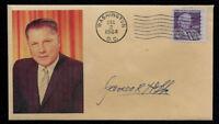 Jimmy Hoffa collector's envelope w original period stamp 51 years old! OP657
