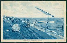 Roma Ladispoli Barca cartolina VK0811