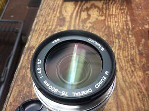 Olympus M.Zuiko Digital Ed 75-300mm F/4-6.7 Telephoto Lens