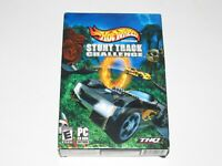 Hot Wheels Stunt Track Challenge PC Game New Sealed In Box 2004