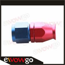 6AN AN6 Fittings Adaptor PTFE Teflon Swivel Hose End Straight Fuel Adapter