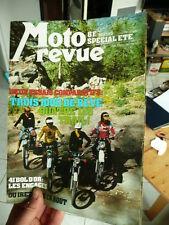 MOTO REVUE n° 2328 - special ete 77- poster Katayama