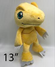 """Digimon Agumon Plush Soft Toy Stuffed Animal Doll Teddy 13"""""""