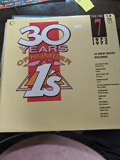 New listing RARE DOUBLE VINYL LP 30 YEARS OF NUMBER 1's VOL 7 72-75 MINT CONNOISSEUR 1989
