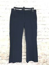 J Crew Navy Blue Teddie Pant Cropped Ankle Trousers Career Dress Pants Size 2