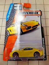Matchbox '14 Porsche Cayman Yellow