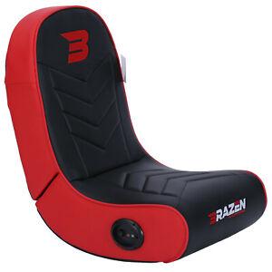 Pre-Loved BraZen Stingray 2.0 Surround Sound Gaming Chair - Red
