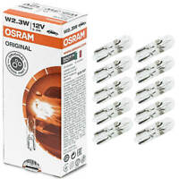 20 x Osram Lampe 12V 2,3W W2x4.6d Glassockellampe W2,3W Innenbeleuchtung 2723