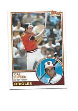 1983 TOPPS CAL RIPKEN JR (Orioles) 2nd Year