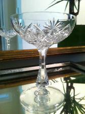 6 coupes à champagne en cristal Mod. LUBIN taillé LUBIN H: 130 mm Val St Lambert
