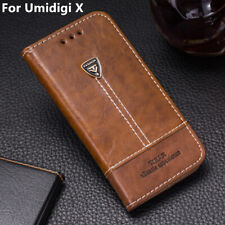 For Umidigi X Phone Case Flip PU Leather Cover Book Stand Wallet CARD 6.35''