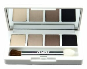 Clinique Colour Surge Eye Shadow Quad in French Vanilla,Double Date,Midnight