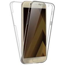 Sdtek Samsung Galaxy A5 (2017) Funda cubierta completa de 360 parte delantera + posterior de silicona