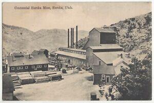 1909 Eureka, Utah - Silver Mine - Tintic Mining District - Vintage Postcard