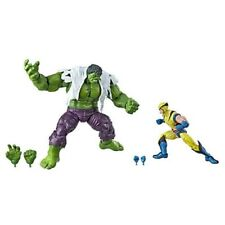 Marvel Legends 80th Anniversary Wolverine e Hulk Action Figure Hasbro 15 Cm