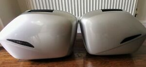 Genuine Honda VFR 800 - Silver Panniers/ Hard Luggage/Side Boxes (2001-13)