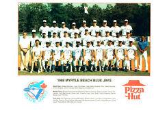 1988 MYRTLE BEACH BLUE JAYS 8X10 TEAM PHOTO TORONTO BASEBALL