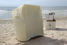 Strandkorbschutzhülle elfenbein ...Bootsplane.NEU..