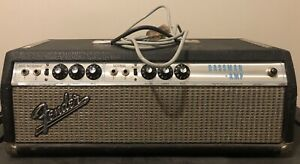 Fender Bassman Silverface 2-Channel 50-Watt Guitar Amp Head