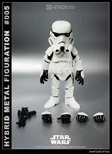 "86 Hero Herocross - 5.5"" Hybrid Metal Star Wars Figuration HMF#005 Stormtrooper"