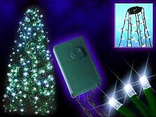 192 White LED Tree Christmas Lights Waterfall Effect