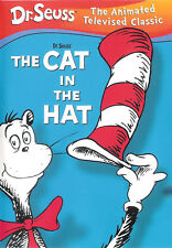 Dr. Seuss The Cat In The Hat ~ The Animated Televised Classic DVD FREE Shipping
