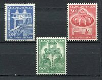 37097) Czechoslovakia 1961 MNH Third Five-Year Plan 3v