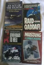 4 PBs NF Military: Seven Roads to Hell, Raid on Qaddafi, Ace of the 8th, Mustang