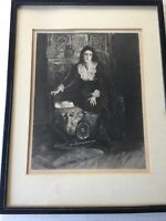 """Jessie Macgregor """"In the Reign of Terror"""" Print, Eugene Andre Champollion"""
