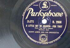 78rpm HARRY JAMES a little bit of heaven / little star