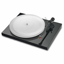 Pro-Ject Debut III Esprit Turntable (Piano Black) Incl. Ortofon 2M Red
