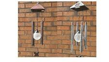 More details for garden outdoor colour changing hanging wind chimes solar led lights