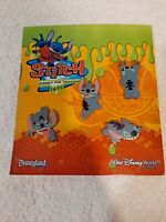 Disney Pin Authentic STITCH Trading Set - 4 Total Pins- BRAND NEW in Package