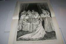 #00-0141 7/11/1891 ANTIQUE PRINT (NEW YORK) - WEDDING - PRINCESS LOUISE