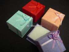 Jewellery Display 4x4x3cm GIFT BOXES Rings Earrings Brooches WHOLESALE Joblot 20