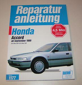 Manual de Reparación Honda Accord El 4. Generación - Año 1989 Hasta 1993