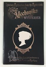 Lady Mechanika Mysteries Booklet Book Collector Comic Art Signed by Joe Benitez Comic Art