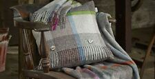 Bronte 100% Lambswool Checked Decorative Throws