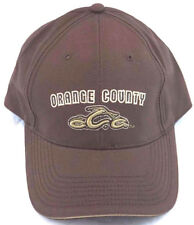 OCC Orange County Choppers Brown OS Hat Cap New!