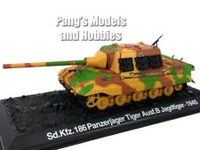 Panzerjager - Jagdtiger - Hunting Tiger Tank Destroyer  1/72 Scale Diecast Model