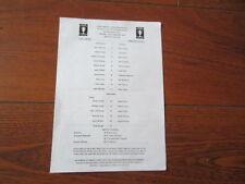 Away Teams C-E FA Cup Charlton Athletic Football Programmes