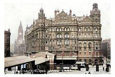 ptc2842 - Lancs - Early Midland Hotel, 16 Peter Street, Manchester - print 6x4