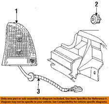 CHRYSLER OEM 94-97 LHS Taillight Tail Light Lamp Rear-Socket & Wire Left 4759281