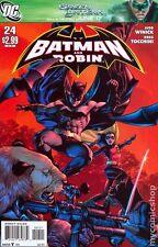 Batman and Robin #24 DC Comics 2011 JG Jones 1:10 Variant Cover Comic Book
