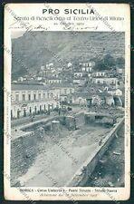 Ragusa Modica Alluvione 1902 cartolina QQ0616